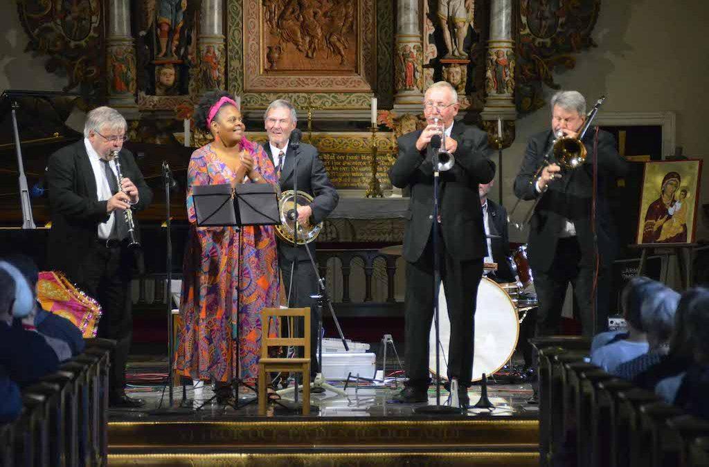 Lions firar 100 år med musik av New Orleans Delight I S:t Nicolai kyrka